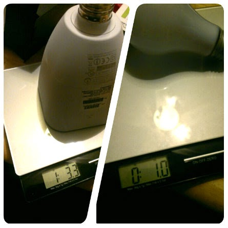 awox striimlight light bulb weight comparison