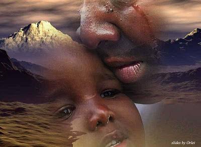 lágrimas de pai e filho