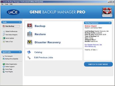 Backup Genie Online Backup Service