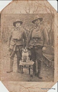 Two AIF soldiers - Alex Duncan and friend