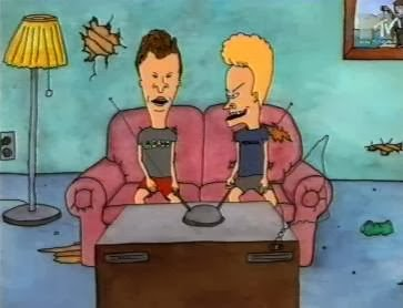 Beavis and Butthead cartoon Mike Judge