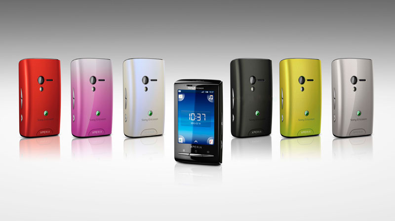 Sony Ericssin Xperia X10 Mini Mobile Technical Specifications :