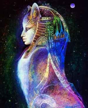 Deusa Egípcia Bastet ;