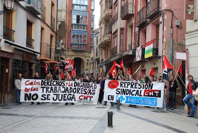 Crónica de la jornada solidaria por el conflicto con Riojasalud - 26 Marzo Mani+32