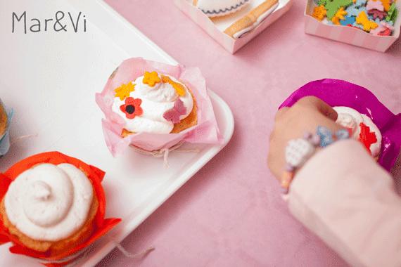 Cupcakes decorati dai bambini