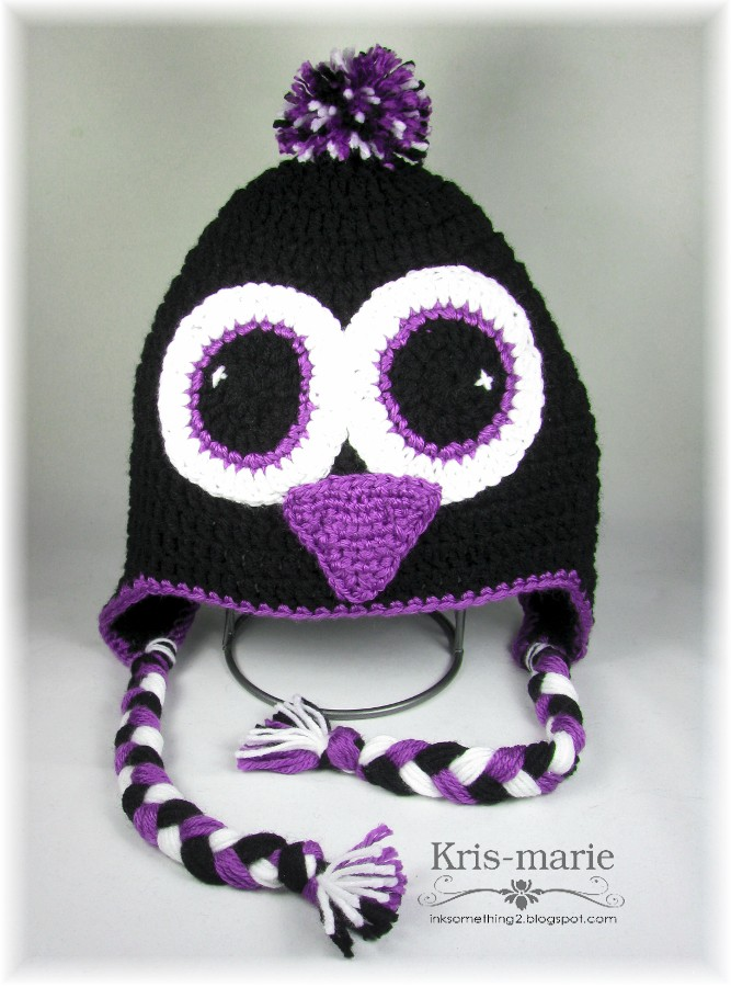The Crafting Secretary Crochet Penguin Snowman Hats