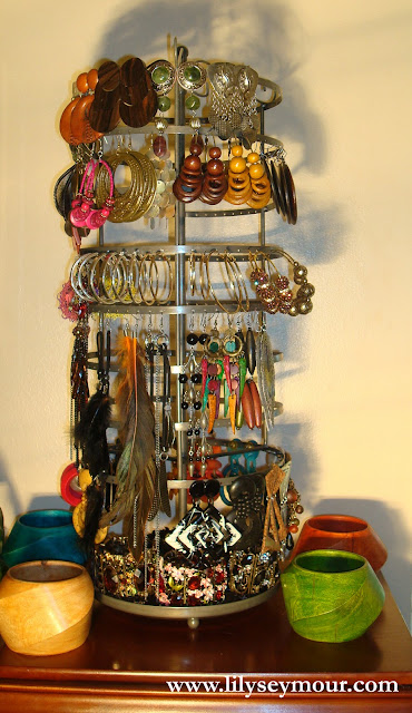 Armoire and Jewelry Carousel