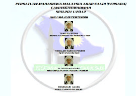 CARTA ORGANISASI PERSADA MADINAH SESI 2011/2012