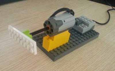 LEGO WeDo Junior Robotic motor demo