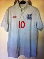 england official home jersey - wayne rooney