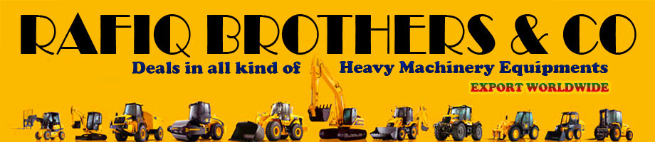Rafiq Brothers Constructions Heavy Equipment [Sales - Rental - Service]