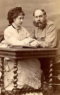 Archiduc Charles-Louis d'Autriche et sa troisième épouse, née Marie-Thérèse de Bragance