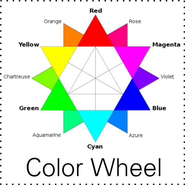 According To The Colour Wheelcolours That Are Directly Across Each Other Go Well Together Like Green And Magentablue Yellow