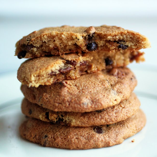 Chocolate Chip Cookies with Candied Bacon - Primal Palate ...