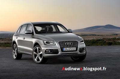 Audi Q5 : 13.000 modèles rappelés aux Etats-Unis