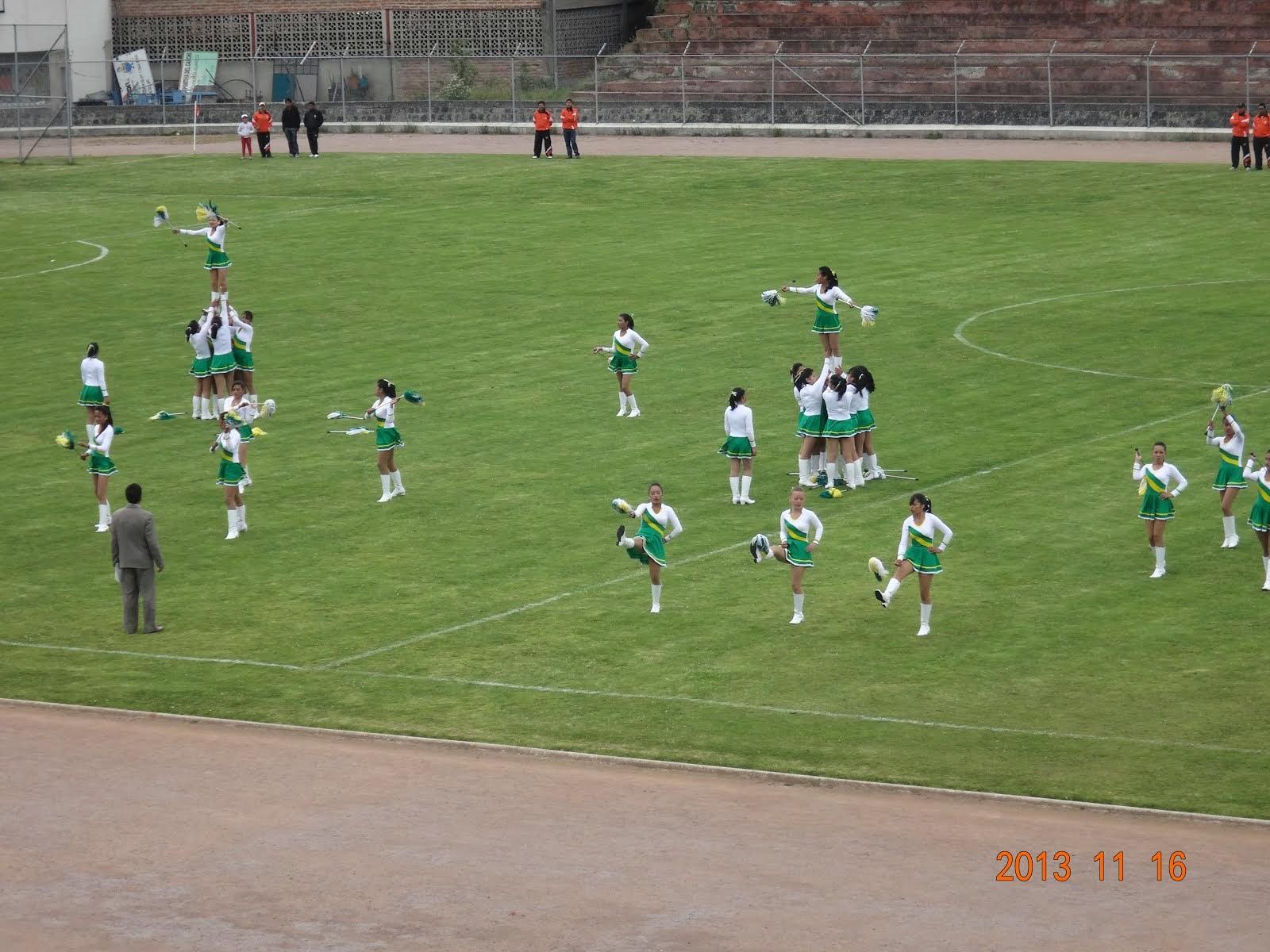 Grupo de Bastoneras 2013-2014