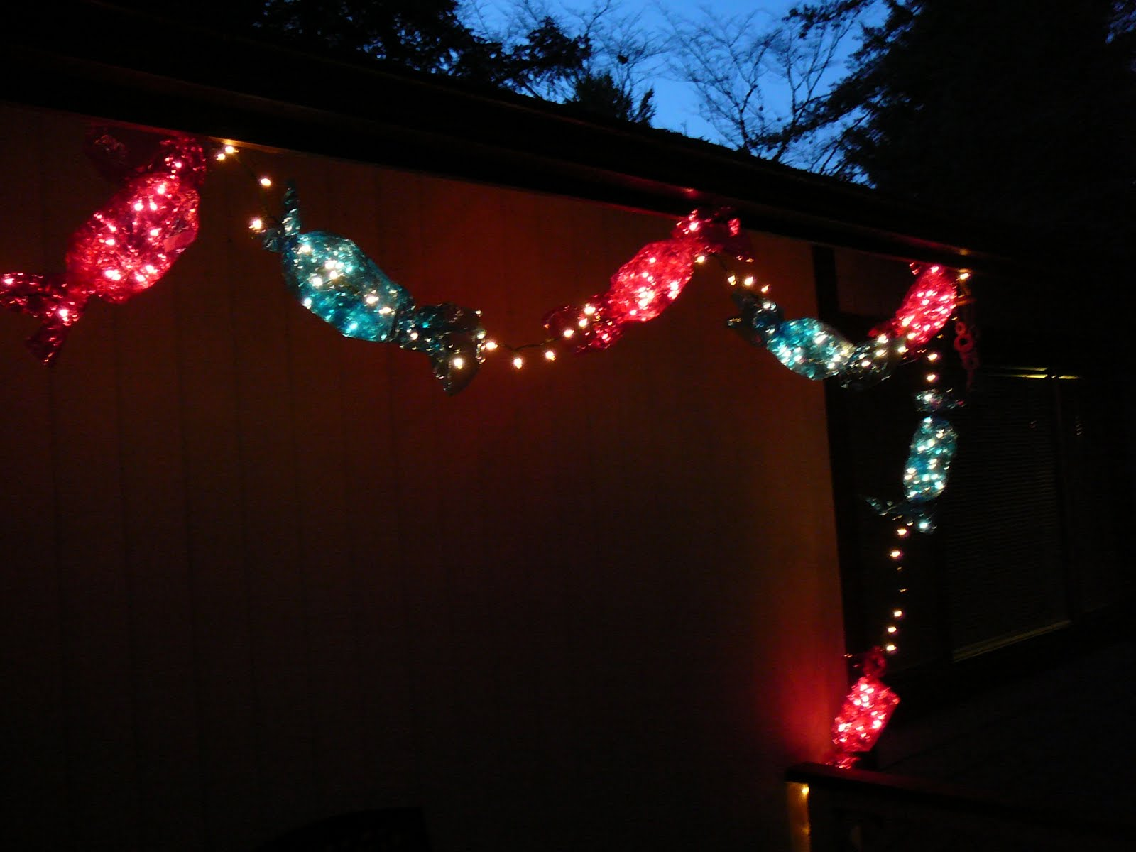 Candy Christmas Lights