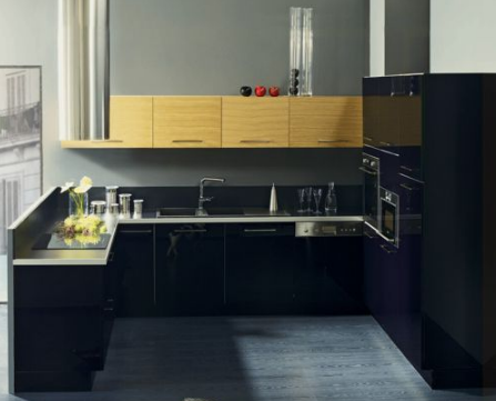 art d co les cuisines alinea. Black Bedroom Furniture Sets. Home Design Ideas