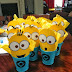 DIY Minions: Table Centerpieces.