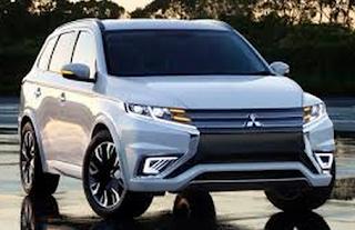 2016 Mitsubishi Outlander SUV Hybrid
