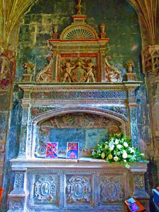 Sharington, memorial, St Cyriac's, church, Lacock, Wiltshire