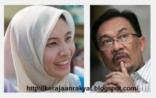 Datuk Seri Anwar Ibrahim dan Nurul Izzah