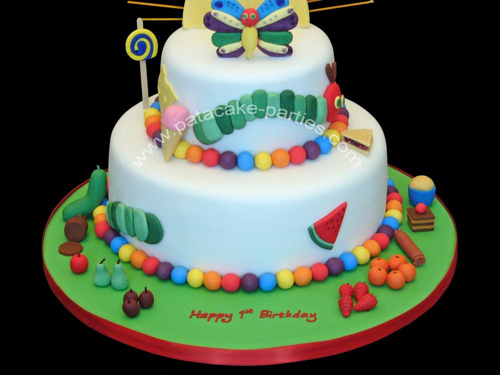Very Hungry Caterpillar Cake Ideas