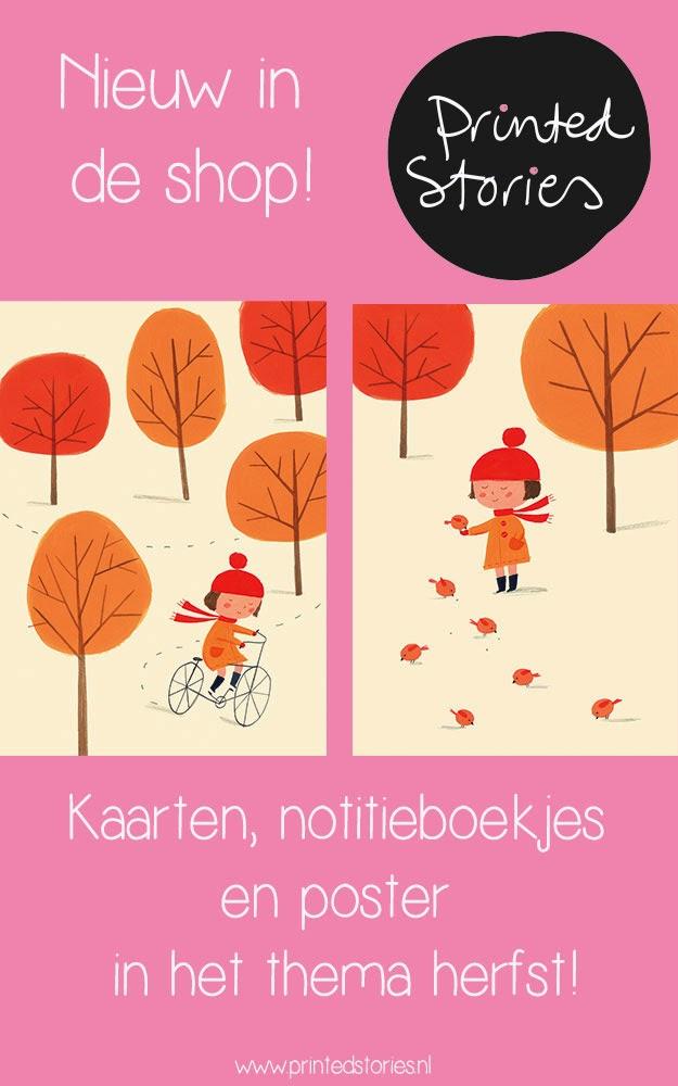 herfst bij printed stories
