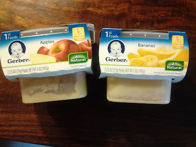 Gerber 1st Foods baby food