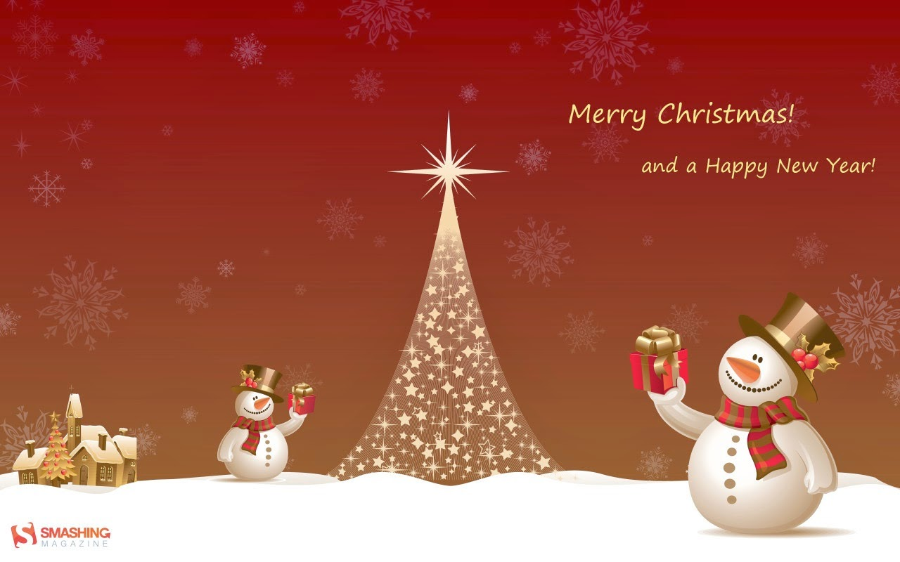 Merry Christmas And Happy New Year 2015 Greetings Web Designer