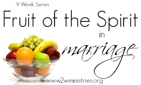 #Fruit of the #Spirit in #marriage - week 7 #faithfulness