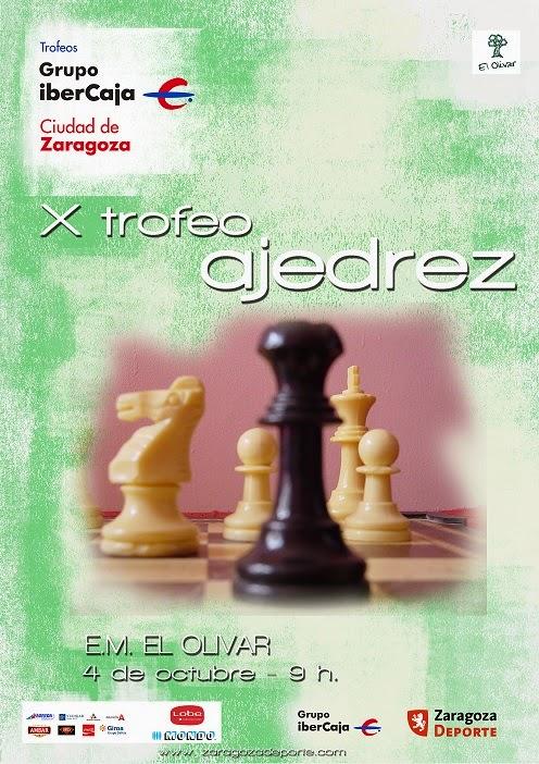 X CIUDAD de ZARAGOZA de AJEDREZ