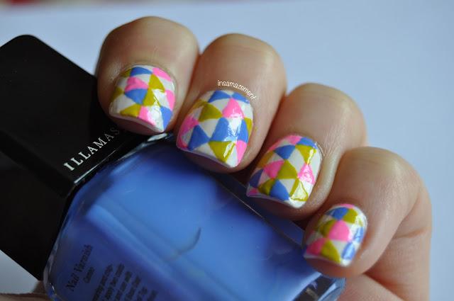 Bright Nail Art