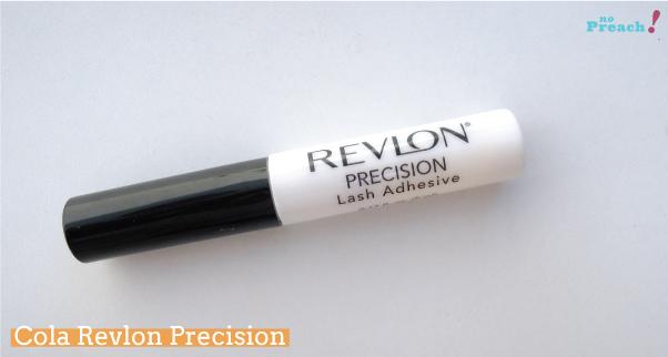 Testei cola Revlon Precision - review - resenha