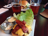 Smaltimore bacon cheeseburger