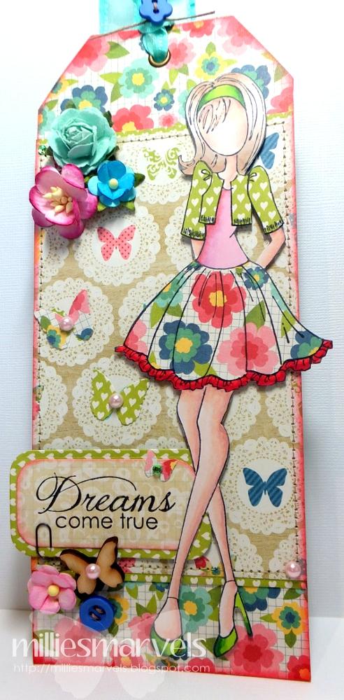Ali Craft Blog A Beautiful Life Prima Doll Tag