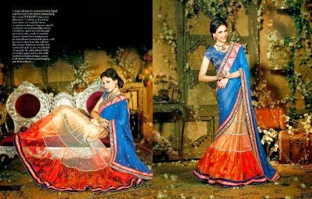 Two Shaded Saree Collection