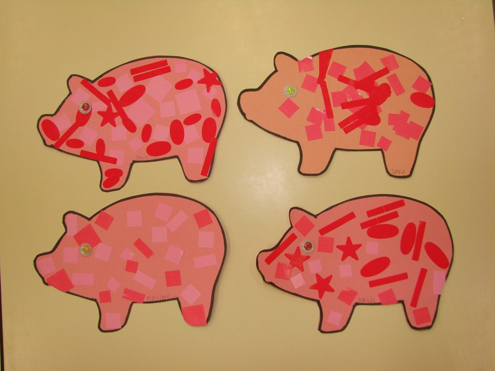 Decore Des Trois Petit Cochons