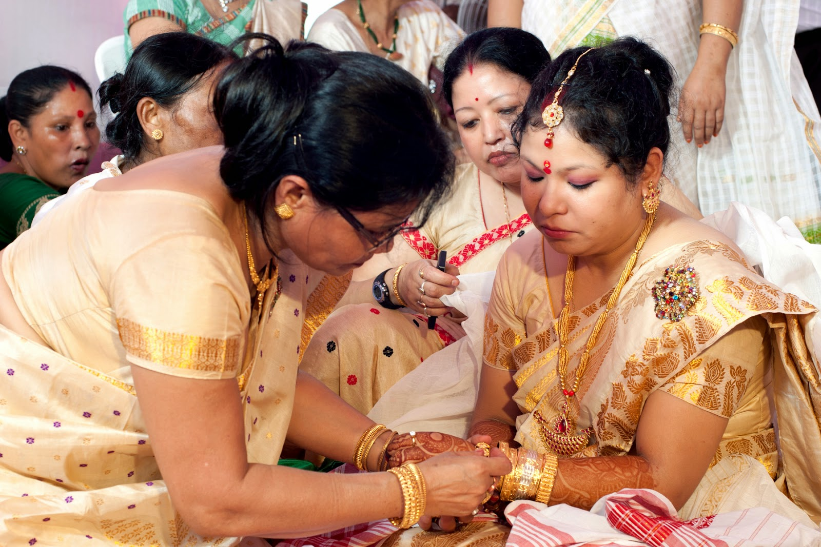 Madhumita S Blog Room Painting An Assamese Marriage In