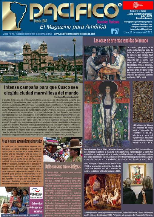 Revista Pacífico Nº 57 Turismo