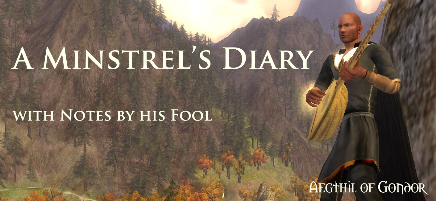 A Minstrel&#39;s Diary, with Notes by his Fool.