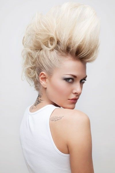 faux mohawks formal hairstyles