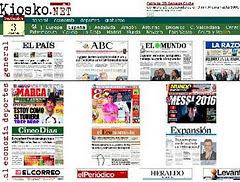 ESPAÑA: todos los diarios.
