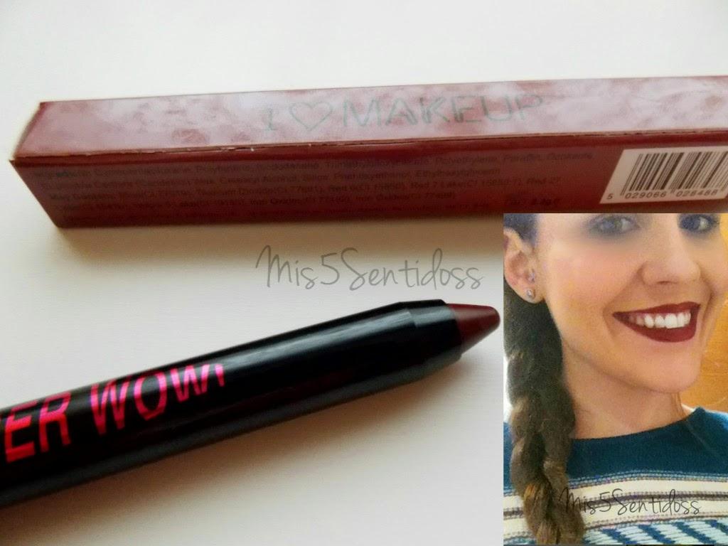 Super Wow de I Heart Makeup en el tono María