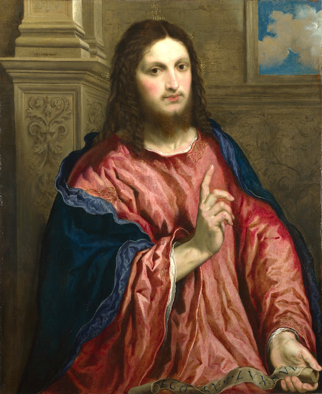 Paris Bordone - Christ as The Light of the World