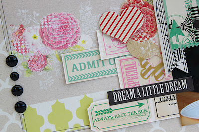 Creative Delight Layout by Juliana Michaels using the My Mind's Eye July Sketch
