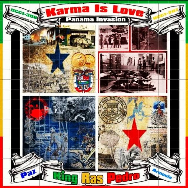 RASTAR RECORDS PRESENT KING RAS PEDRO - KARMA IS MY LOVE CD 2014