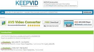 Cara Cara Download Video Dari Youtube dengan Keepvid Dot Com+