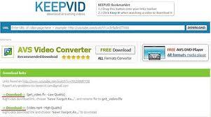 Cara Cara Download Video Dari Youtube dengan Keepvid Dot Com+