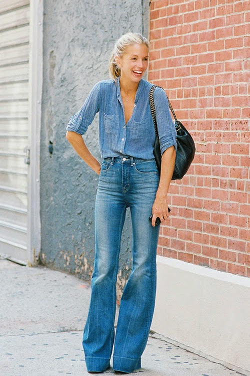 2015 Trends Inspiration: Flared Jeans